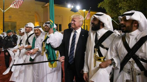 US-SAUDI-DIPLOMACY-TRUMP