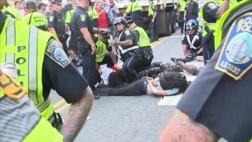 arrest PRTSTRDS